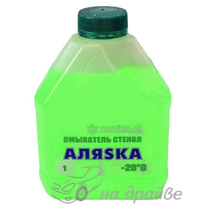 Омыватель стекла зимний -20°C Хвойный 1л Аляsка