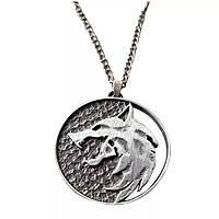 "Медальон (кулон) Ведьмака ""Волк"""