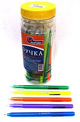 Ручка масленая № 442 Josef Otten Radium синяя в банке 0,6мм mix уп 30 шт