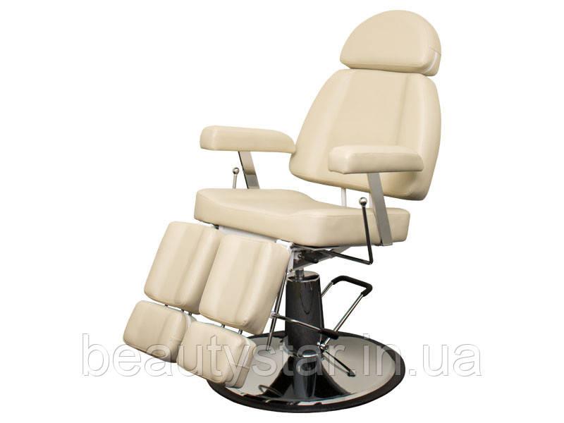 Кресло под педикюр с раздельной раздвижной подножкой гидравлическое для педикюра  227В2