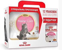 Royal Canin Maine Coon Kitten 4кг - корм для кішок породи мейн кун