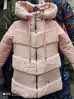 Пальто детское для девочек на зиму. Новинка., фото 1