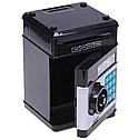 Дитячий сейф скарбничка з кодовим замком, колір чорний, фото 5