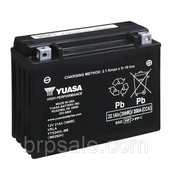 Аккумуляторная батарея Yuasa Ski-Doo BRP Battery 24A *BATTERY 12 VOLT 21AH