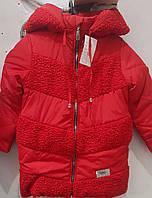 Куртка дитяча для дівчаток на зиму. Новинка., фото 1