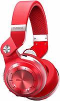 Беспроводные Bluetooth наушники Bluedio T2 Plus со встроенным радио (Красный)