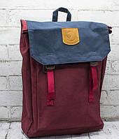 Молодежный рюкзак KÅNKEN FOLDSACK 24210 красный, Рюкзак городской Kanken в Украине. Огромный выбор