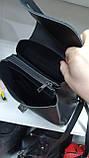 Городские рюкзаки из искусств.кожи (ЧЕРНЫЙ+ЗАМША)22*25см, фото 2