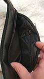 Брендовые сумки на пояс бананки  (ЧЕРНЫЙ)15*36см, фото 2