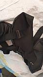 Брендовые сумки на пояс бананки  (ЧЕРНЫЙ)15*36см, фото 3