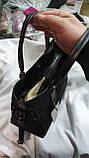 Женские сумки замша Китай (ЧЕРНЫЙ)24*20см, фото 2