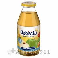 Сок фруктовый детский BEBIVITA Бебивита Яблочный 200 мл