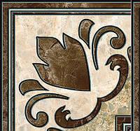 Декор напольный Эмперадор коричневый 137х137