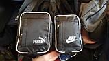 Спортивные барсетки на плечо плащевка (В СИНЕМ)14*19см, фото 2