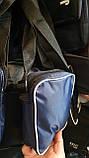Спортивные барсетки на плечо плащевка (В СИНЕМ)14*19см, фото 3