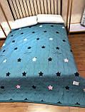 Мягкий двусторонний плед на кровать (евро), фото 2