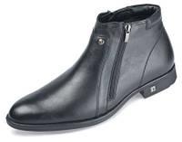 Мужские ботинки классика мида 14765 из натуральной кожи.