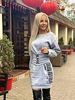 Платье женское осеннее платье футляр женское теплое зимнее Платье туника женская