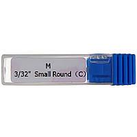 """Насадка для фрезера керамическая Master Professional M 3/32"""" Smail Round (С) Синяя"""