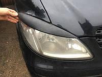 Mercedes Viano 2004-2015 гг. Реснички прямые (черный мат)