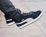 Мужские зимние ботинки Puma Platform Mid OW, ботинки пума платформ, чоловічі зимові черевики Puma Platform Mid, фото 2