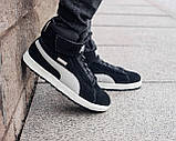 Мужские зимние ботинки Puma Platform Mid OW, ботинки пума платформ, чоловічі зимові черевики Puma Platform Mid, фото 5