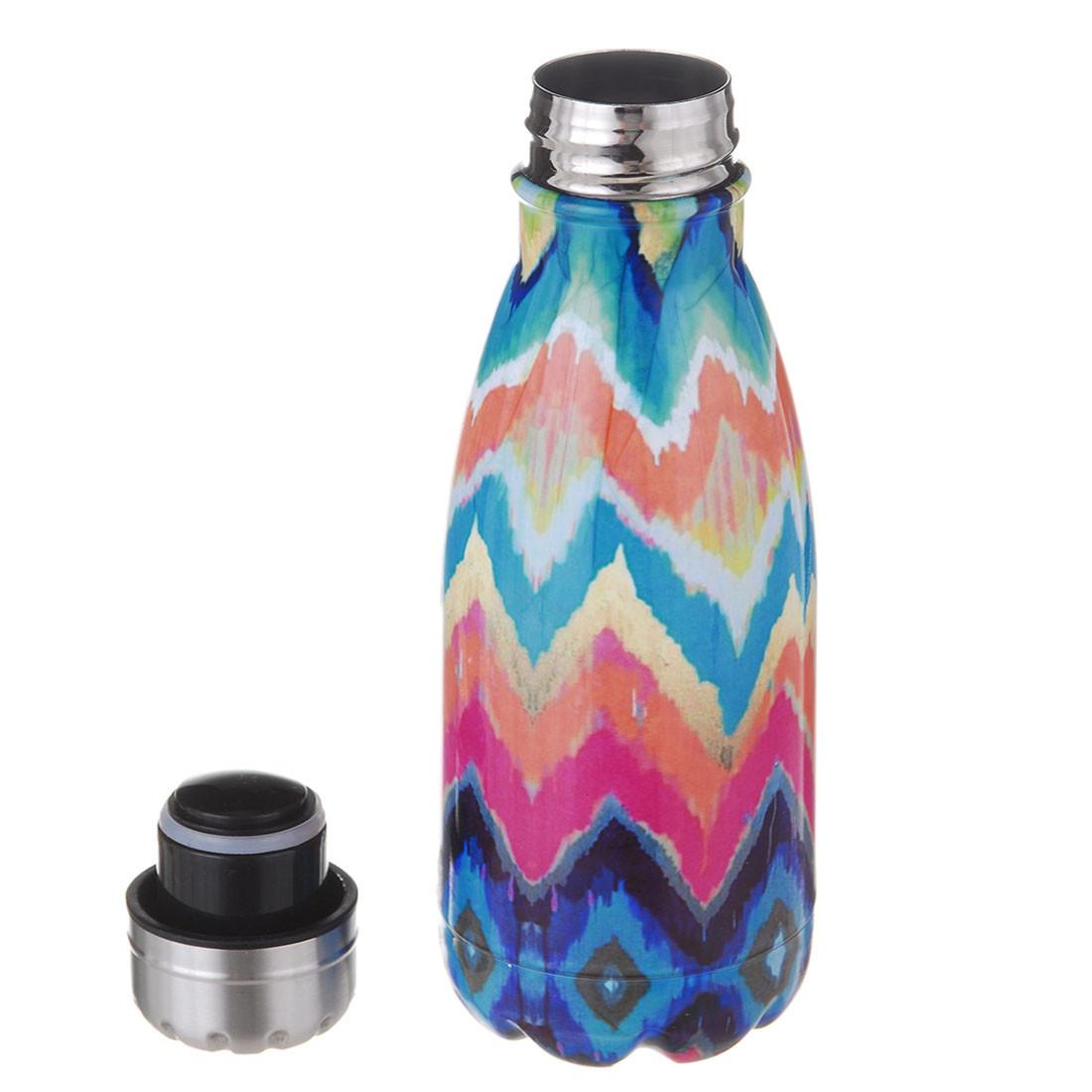Термос бутылка A-PLUS 350 мл (0951) Ассорти принт