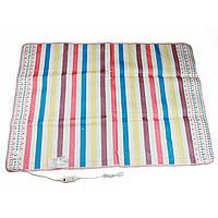 Электропростынь Electric blanket 150 x 120 см (5734) Разноцветные полоски