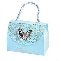 "Пакет подарочный STENSON ""Sweet Love"" (16198) Голубой"