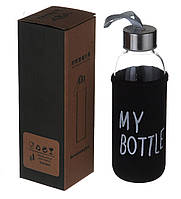 Бутылка для напитков A-PLUS My Bottle + чехол (400MB) Закаленное стекло