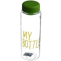 Бутылка для напитков My Bottle + чехол (0426) Салатовая
