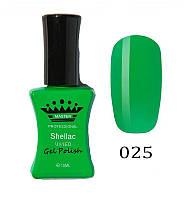 Гель лак Master Professional 10 мл 025 яскравий Зелений