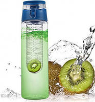 Бутылка для напитков My Bottle с колбой под фрукты (700MB) Синяя