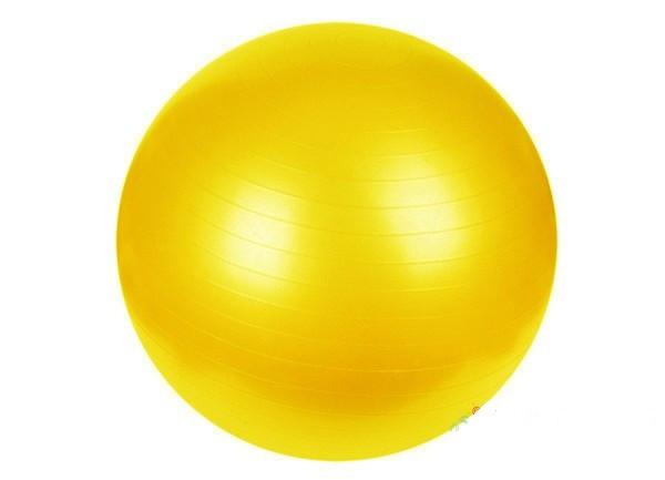 Мяч для фитнеса Profit 65 см без коробки (0382) Желтый