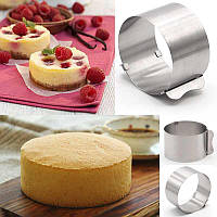 Форма раздвижная CAKE RING 8 см (612LC) Круглая