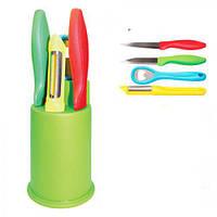 Набор ножей Lucky 5 предметов (0785)