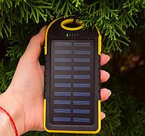 Павер Банк на солнечной батарее Solar 10000 mAh Yellow