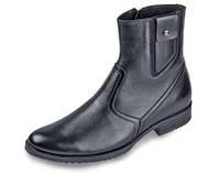 Мужские ботинки классика мида 14694 из натуральной кожи., фото 1