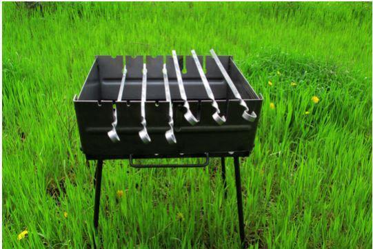 Мангал раскладной STENSON на 8 шампуров (УК-М8)
