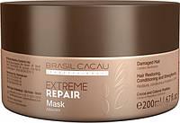 Маска для экстремального восстановления Cadiveu Brasil Cacau Extreme Repair Hair Mask 200 ml (ER00006)