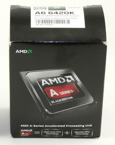 """Процессор AMD A6 6420K 4.0GHz FM2 Richland """"Over-Stock"""""""