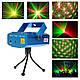 Лазерный проектор Mini Laser Stage Lighting W001 стробоскоп дождь, фото 5
