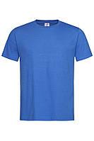 Футболка Stedman Classic Men мужская хлопковая 155 г/м2 синяя