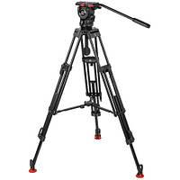 Sachtler 0778 Aluminum Tripod System with FSB 8 Head, ENG 752 D HD Legs & Mid-Level Spreader