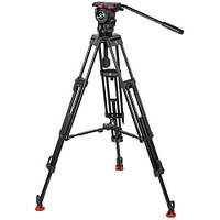 Sachtler 0778 Aluminum Tripod System with FSB 8 Head, ENG 752 D HD Legs & Mid-Level Spreader