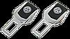 Заглушки ремней безопасности VOLKSWAGEN, комплект  сервисных заглушек ремней безопасности в подарочном наборе, фото 2