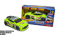 Машинки Hot Wheels HW-18 гоночная, для мальчиков, с музыкальными и световыми эффектами.