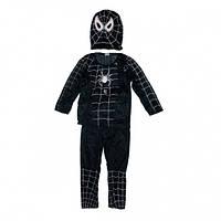 Детский карнавальный костюм Спайдермен чёрный