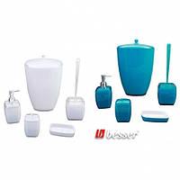 Набор аксессуаров для ванной комнаты (акрил, 5 предметов) Besser 8012