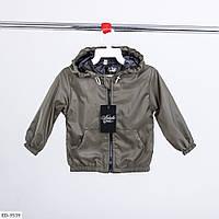 Ветровка детская с кармашками хаки SKL11-260940